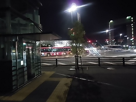 静岡駅の夜