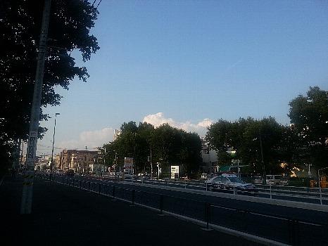入道雲縮小