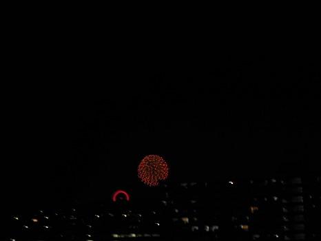 西武園の花火