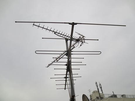 アンテナ、方向修正、一部