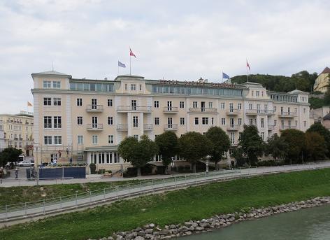 ザッハーホテル窓からの眺め (5)