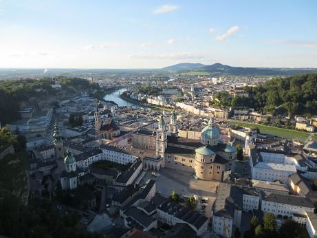 ザルツブルグ遠景