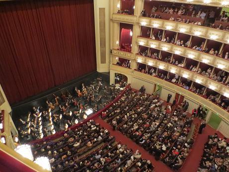 ウィーンオペラ座内部