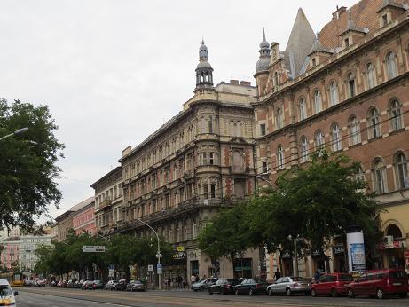 ブダペスト街並み