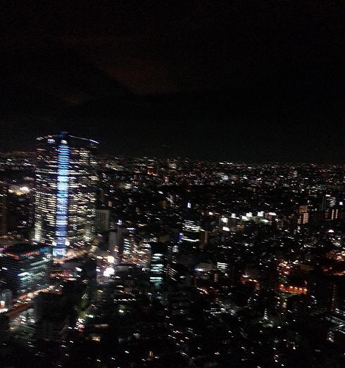 リッツ夜景