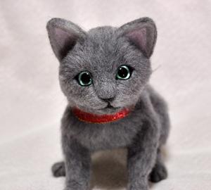 ロシアンブルー猫131225 056