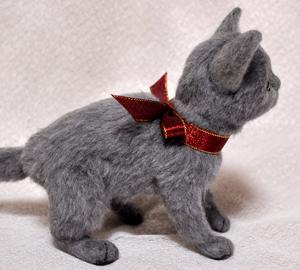 ロシアンブルー猫131225 053
