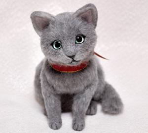ロシアンブルー猫131225 008