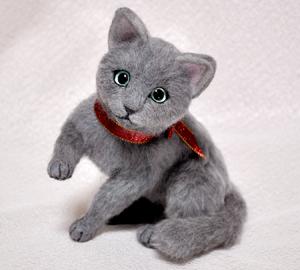 ロシアンブルー猫131225 012