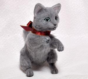 ロシアンブルー猫131225 021