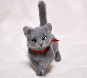 ロシアンブルー猫131225 024