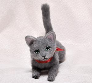 ロシアンブルー猫131225 034
