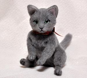 ロシアンブルー猫131225 037