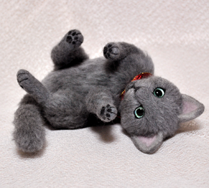 ロシアンブルー猫131225 040