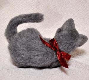 ロシアンブルー猫131225 042