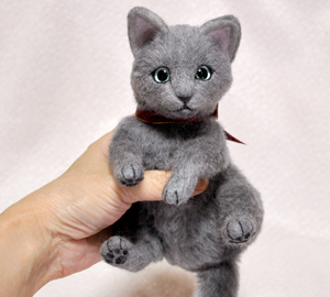 ロシアンブルー猫131225 043