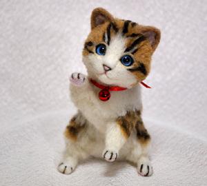 白キジトラはちわれ子猫140108 015