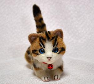 白キジトラはちわれ子猫140108 019