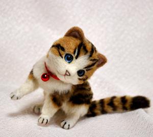 白キジトラはちわれ子猫140108 031