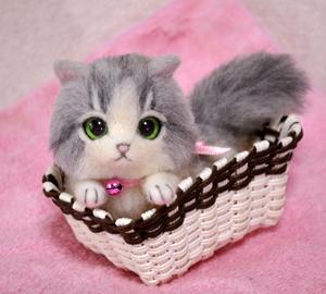 グレーハチワレ子猫140114 002