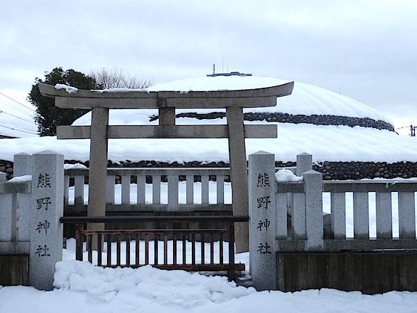 「武蔵府中熊野神社古墳(国史跡)」