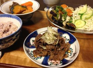 Sep03_牛肉のしぐれ煮