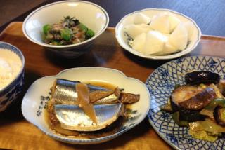 Sep16_サンマの生姜煮