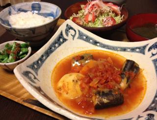 Oct15_さんまのトマト煮