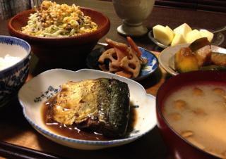 Oct21_サバのバルサミコ煮