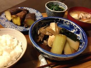 Dec16_ぶりと長葱煮