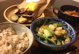 Dec24_シーフードと野菜炒め