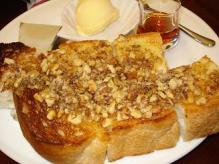 胡桃トースト