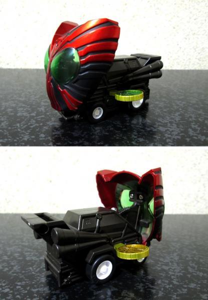 仮面ライダーキャラバッカー 「オーズバッカー」