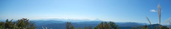 鋸山から日の出山 087