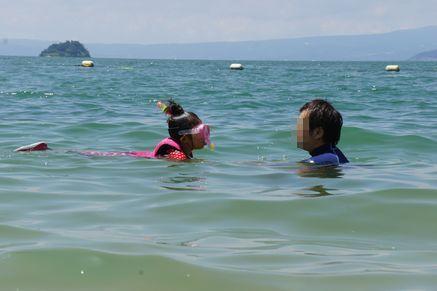 西目海水浴場2