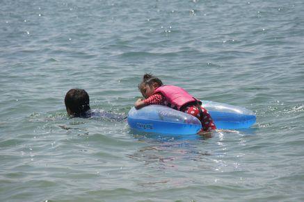 西目海水浴場3