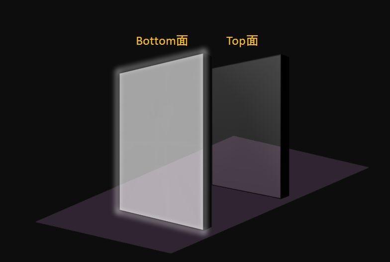 フロートガラスの蛍光