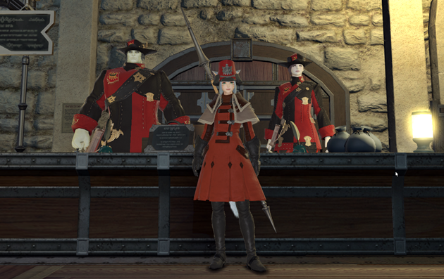 FF14 制服