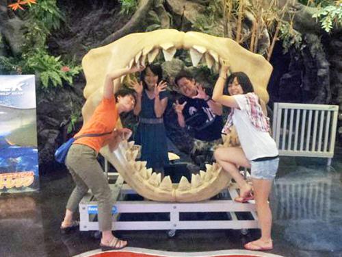 サメの口の中cc