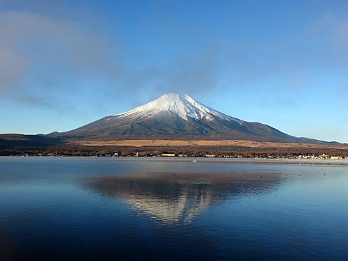 13.12.1山中湖逆さ富士