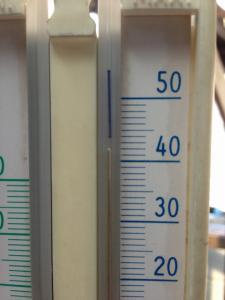 気温42度!!