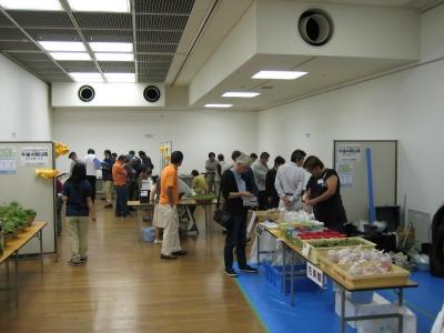 メダカ振興会展示ブース