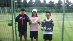 紫波町小学生テニス選手権