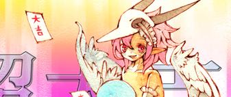 天使とタマゴポスカ