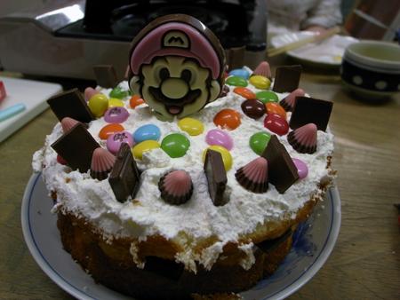 うちあげケーキ