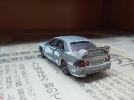 トヨタ・アルテッツァ(SXE10 RS200型)を作ろう その1