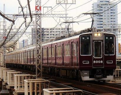 6月22日 撮影するのは阪急神戸線と大きな橋