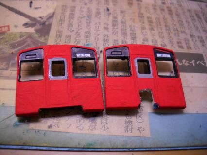 天空の赤い相方普通列車を作ろう 南海2300系作成編