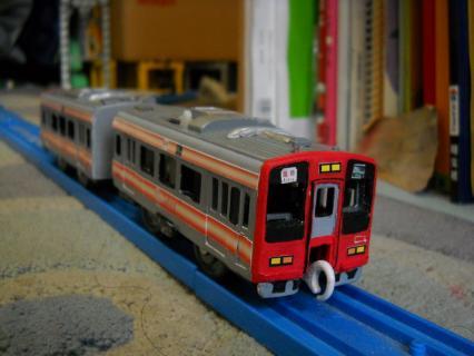 天空の赤い相方普通列車を作ろう 南海2300系 お披露目編