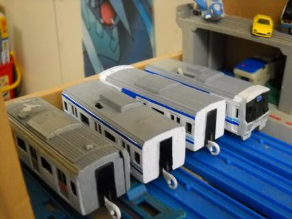 改造プラレール未更新の221系を作る前篇